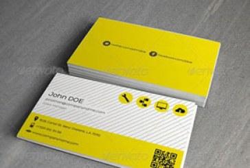 دانلود کارت ویزیت شرکتی – طرح شماره 34