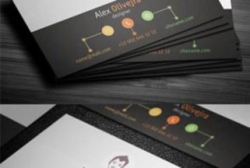 دانلود کارت ویزیت خلاقانه شرکتی – شماره 4