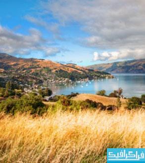 دانلود والپیپر مزرعه - نیوزیلند
