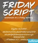 دانلود فونت انگلیسی دستخط Friday Script
