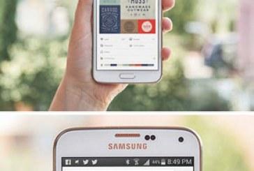 دانلود ماک آپ گوشی سامسونگ گالاکسی S5