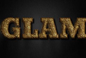 آموزش فتوشاپ ساخت افکت متن طلایی زیبا