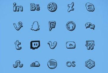 دانلود آیکون های شبکه اجتماعی – ترسیمی