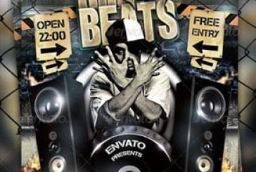 دانلود فایل لایه باز پوستر موسیقی Hip Hop – شماره 2