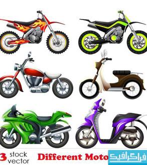 دانلود وکتور های موتور سیکلت