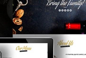 دانلود قالب HTML تک صفحه ای رستوران – Hungry