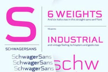دانلود فونت انگلیسی Schwager