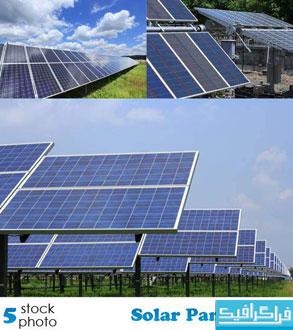دانلود تصاویر استوک صفحات خورشیدی