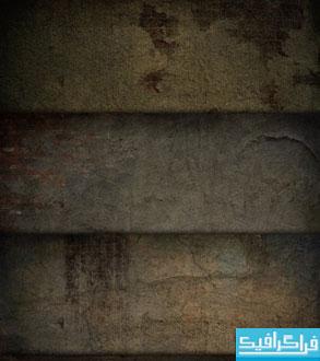 دانلود تکسچر های دیوار پوسیده