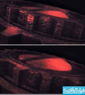 پروژه افتر افکت لوگو چرخ دنده سه بعدی