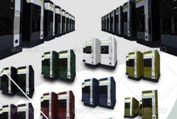 فایل لایه باز سرور های کامپیوتری سه بعدی