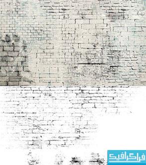 دانلود براش های فتوشاپ دیوار آجری - شماره 2