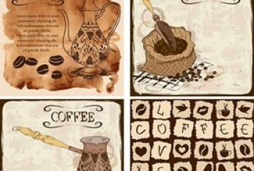 دانلود وکتور های پس زمینه قهوه – شماره 2