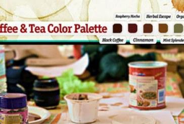 دانلود براش های فتوشاپ لکه چایی و قهوه