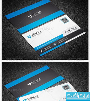 دانلود کارت ویزیت شرکتی - شماره 40