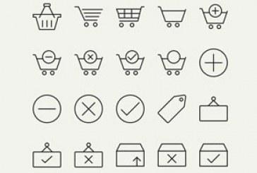 دانلود آیکون های فروشگاه اینترنتی – خطی