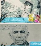 اکشن فتوشاپ افکت نقاشی مداد با دست - شماره 2