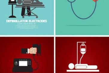 دانلود وکتور طرح های سلامتی – مفهومی
