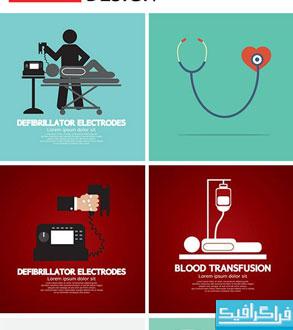 دانلود وکتور طرح های سلامتی - مفهومی