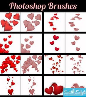 دانلود براش های فتوشاپ قلب - شماره 2
