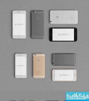 دانلود ماک آپ های فتوشاپ گوشی Iphone 6 و +6