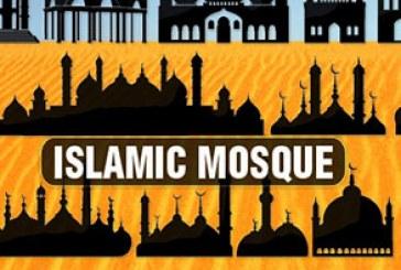 دانلود وکتور مسجد های اسلامی – طرح سایه