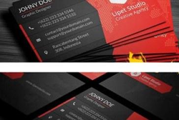 کارت ویزیت شرکتی طرح مدرن – شماره 2