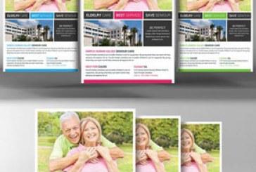 دانلود فایل لایه باز پوستر خانه سالمندان