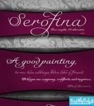 دانلود فونت انگلیسی دستخط Serofina
