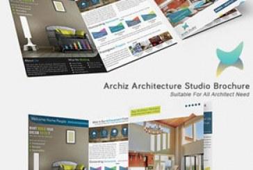 فایل لایه باز بروشور استودیو معماری