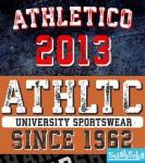 دانلود فونت انگلیسی ورزشی Athletico
