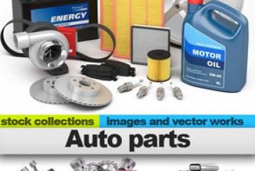 دانلود تصاویر استوک قطعات اتومبیل – Auto Parts