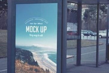 ماک آپ فتوشاپ بیلبورد – ایستگاه اتوبوس