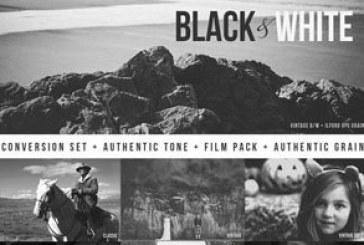 اکشن فتوشاپ افکت های سیاه و سفید – شماره 2