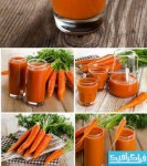 دانلود تصاویر استوک آب هویج و هویج