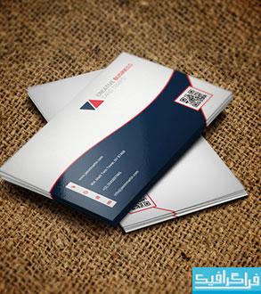 دانلود کارت ویزیت شرکتی - طرح شماره 43