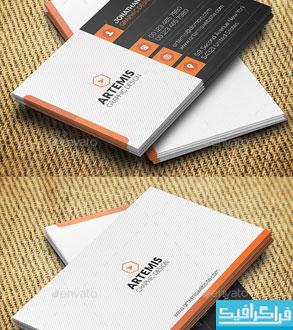 دانلود کارت ویزیت شرکتی - شخصی - شماره 44