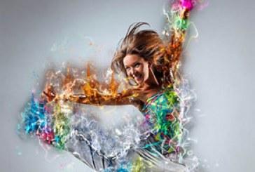 دانلود اکشن فتوشاپ ساخت افکت آتشین