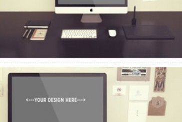 دانلود ماک آپ فتوشاپ کامپیوتر iMac – آی مک