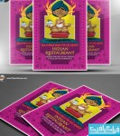 دانلود فایل لایه باز پوستر رستوران هندی