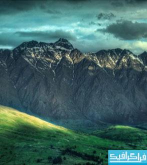 دانلود والپیپر کوهستان نیوزیلند