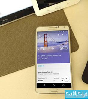 دانلود ماک آپ فتوشاپ گوشی موبایل Samsung Note 3