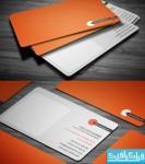 دانلود کارت ویزیت نارنجی - Orange Business Card