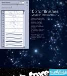 دانلود براش های فتوشاپ ستاره و فضا