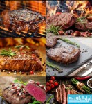 دانلود تصاویر استوک گوشت کبابی - استیک
