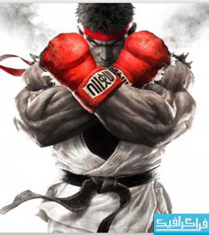 دانلود والپیپر بازی مبارز خیابانی Street Fighter V 2015