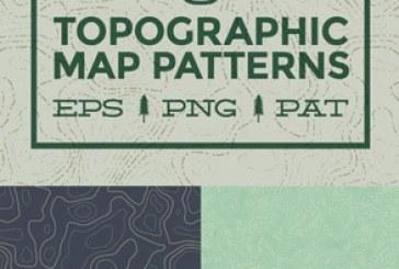 دانلود پترن های فتوشاپ توپوگرافی – Topography