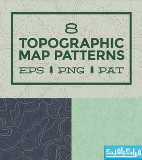 دانلود پترن های فتوشاپ توپوگرافی - Topography