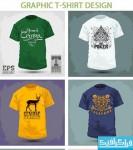 دانلود وکتور طرح های تی شرت