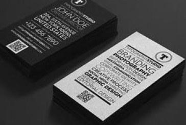 دانلود کارت ویزیت تایپوگرافی – متنی